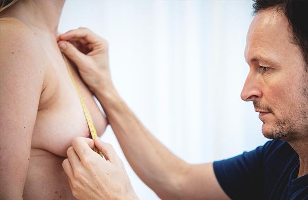 Bryst forberedende operation